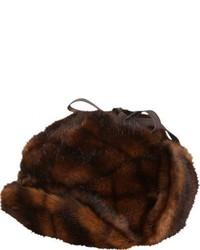 Albertus Swanepoel Faux Fur Iorek Trapper Hat