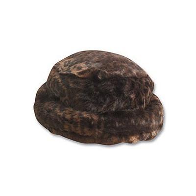 2983b4aa Scala Hats Scala Faux Fur Bucket Hat Dark Leopard, $24 | Village ...