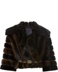 Fendi Fur Belted Jacket
