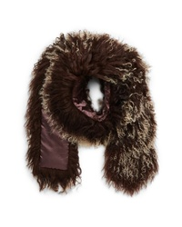 Toria Rose Genuine Mongolian Lamb Fur Scarf
