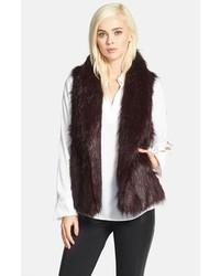 Dark Brown Fur Vest