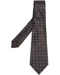 Kiton Geometric Pattern Tie