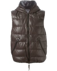 Dark Brown Gilet
