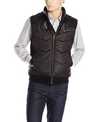 Calvin Klein Jeans Mixed Media Puffer Vest