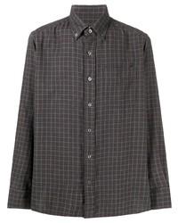 Tom Ford Plaid Button Down Shirt
