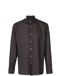 Borriello Micro Check Shirt