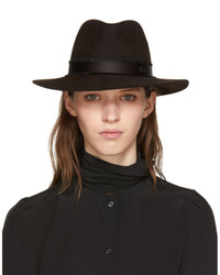 Maison Michel Brown Rico Fedora