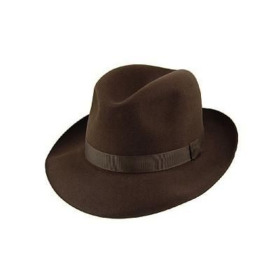 c18335de329 ... Dark Brown Hats Christys  Hats Christys Hats Foldaway Fedora Brown
