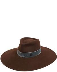 Pina rabbit fur felt w velvet hatband medium 3734238