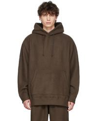 Ts(S) Brown Wool Hoodie