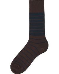 Uniqlo Heattech Striped Socks