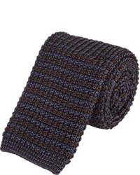 Barneys New York Stripe Square Neck Tie