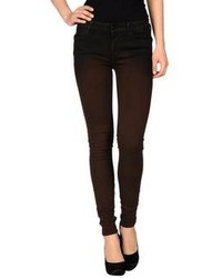 Dark Brown Jeans