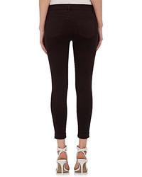 J Brand Anja Mid Rise Cuffed Crop Jeans