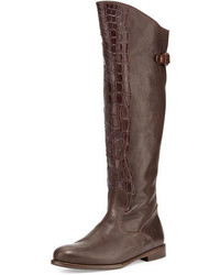 Dark brown knee high boots original 2459679