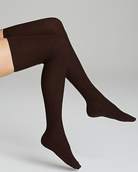 Hue Ribbed Over The Knee Socks