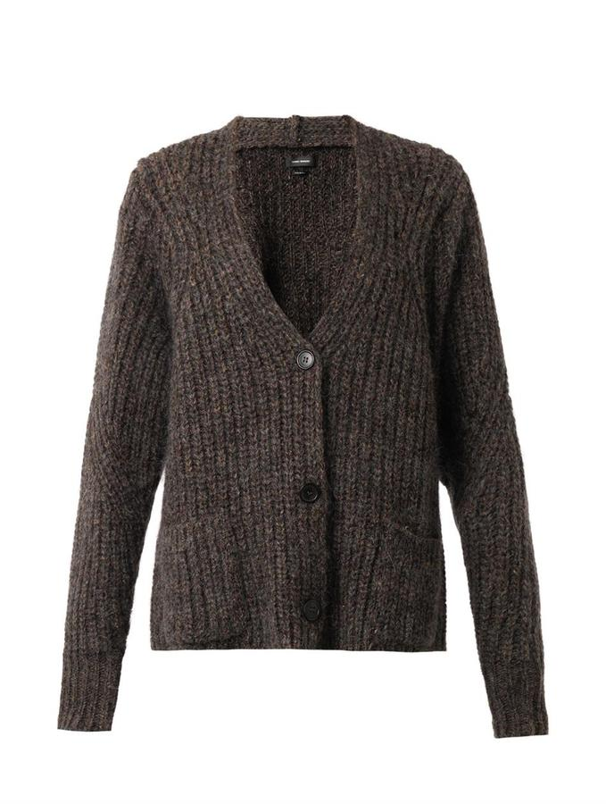 Isabel Marant Franck Chunky Knit Cardigan | Where to buy & how to wear