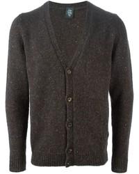Speckled v neck cardigan medium 414127