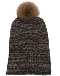 Pom pom knit beanie medium 5261653