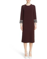 Kenzo Sport Knit Midi Dress