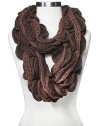 Sylvia Alexander Sylvia Alexander Knit Ruffled Infinity Scarf