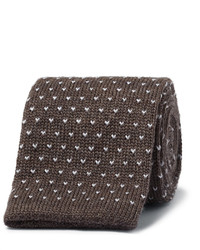 Canali 6cm Knitted Wool Tie