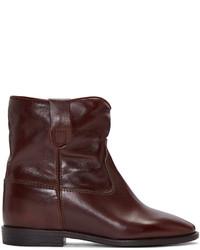 Brown cluster boots medium 785950
