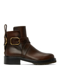 Chloé Brown Diane Boots