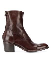 Alberto Fasciani Maya Block Heel Ankle Boots