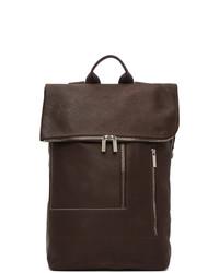 Rick Owens Burgundy Tecuatl Duffle Backpack