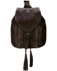 Just Cavalli Fringe Detail Backpack