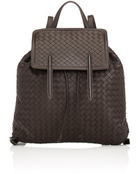 Bottega Veneta Intrecciato Flap Backpack