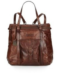 Frye Josie Leather Backpack