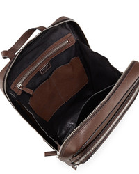 Prada Calfskin Slim Backpack With Zip Closures | Where to buy ...