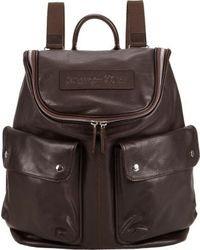 Felisi Top Zip Backpack Brown
