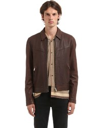 Nappa vintage leather jacket medium 6721530