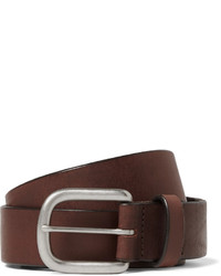 J.Crew 35cm Brown Auster Arrowhead Leather Belt