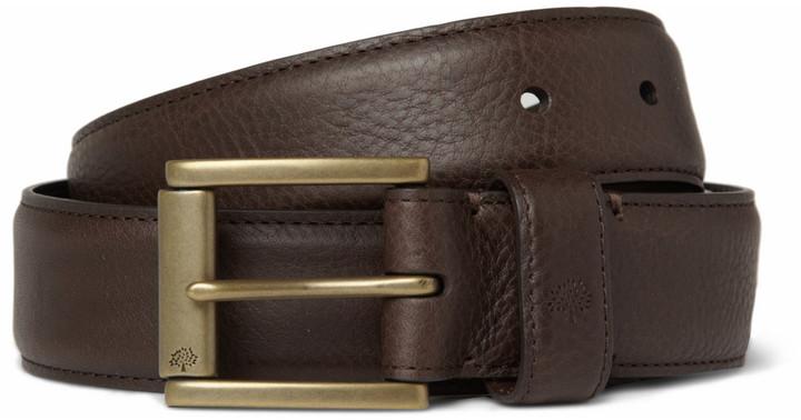 e2260f63a6b Mulberry 35cm Dark Brown Full Grain Leather Belt, $230 | MR PORTER ...