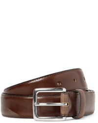 J.Crew 3cm Brown Leather Belt