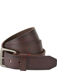 A. Kurtz A Kurtz Locke Leather Belt