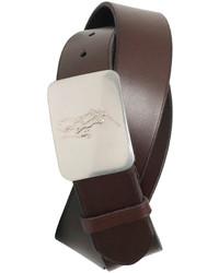 Polo Ralph Lauren Accessories Pony Plaque Leather Belt