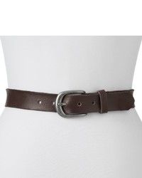 Lodis Anna Oversized Buckle Leather Belt