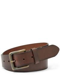 Fossil Artie Leather Belt