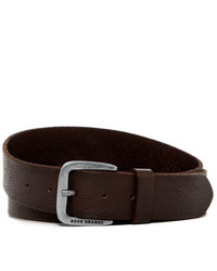 Boss Hugo Boss Jobork Grainy Leather Belt