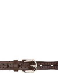 Isabel Marant Brown Leather Kaylee Belt