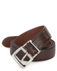 Brunello Cucinelli Seamed Leather Belt