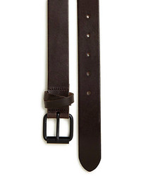 Saks Fifth Avenue Collection Full Grained Leather Belt