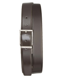 Santoni D Fax Reversible Leather Belt