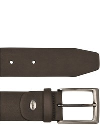 Manieri Dark Brown Nubuk Belt