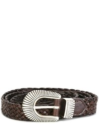 Eleventy Interlaced Design Belt
